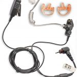 SL1600, SL4000 2 wire earpiece with ear mould pair