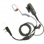 Kenwood-TK-2-pin-two-wire-covert-earpiece-long-strong-cabling-230917768566