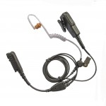 Motorola-DP2400-DP2600-two-wire-earpiece-acoustic-tube-with-microphone-360662041957