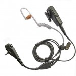 Motorola-MTH800-earpiece-two-wire-covert-acoustic-tube-microphone-long-cabling-230945213395