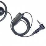Motorola-TLKR-series-T5-T7-etc-D-shape-earpiece-microphone-single-pin-plug-360983614281