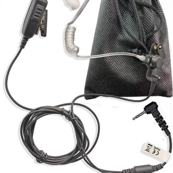 Motorola-TLKR-series-earpiece-two-wire-with-acoustic-tube-long-Kevlar-cabling-230945149301
