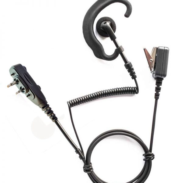 Icom F2000 G shape earpiece